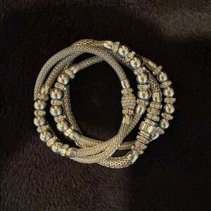 White House Black Market silver bracelet